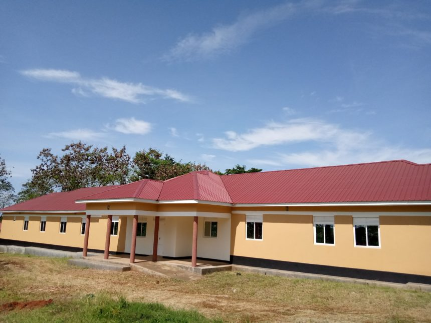 New Girls Dormitory and Ground breaking of Multipurpose Hall.